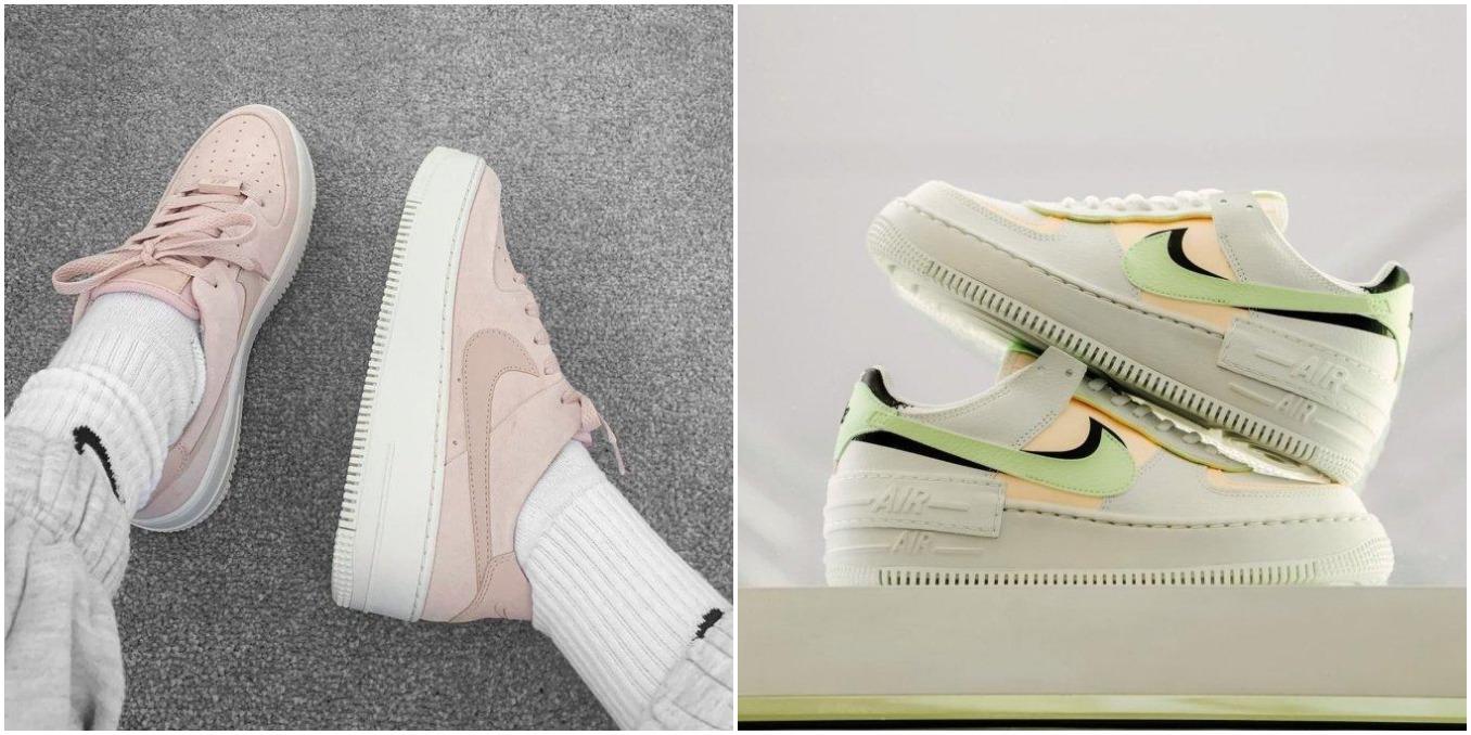 Nike Air Force 1 Shadow y Sage Low